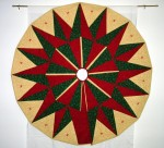 """Sullivan's Star"" Christmas Tree Skirt"