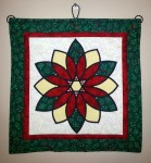 Christmas Stained Glass - Wall-hanging