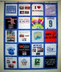T-Shirt Quilt for Kellie