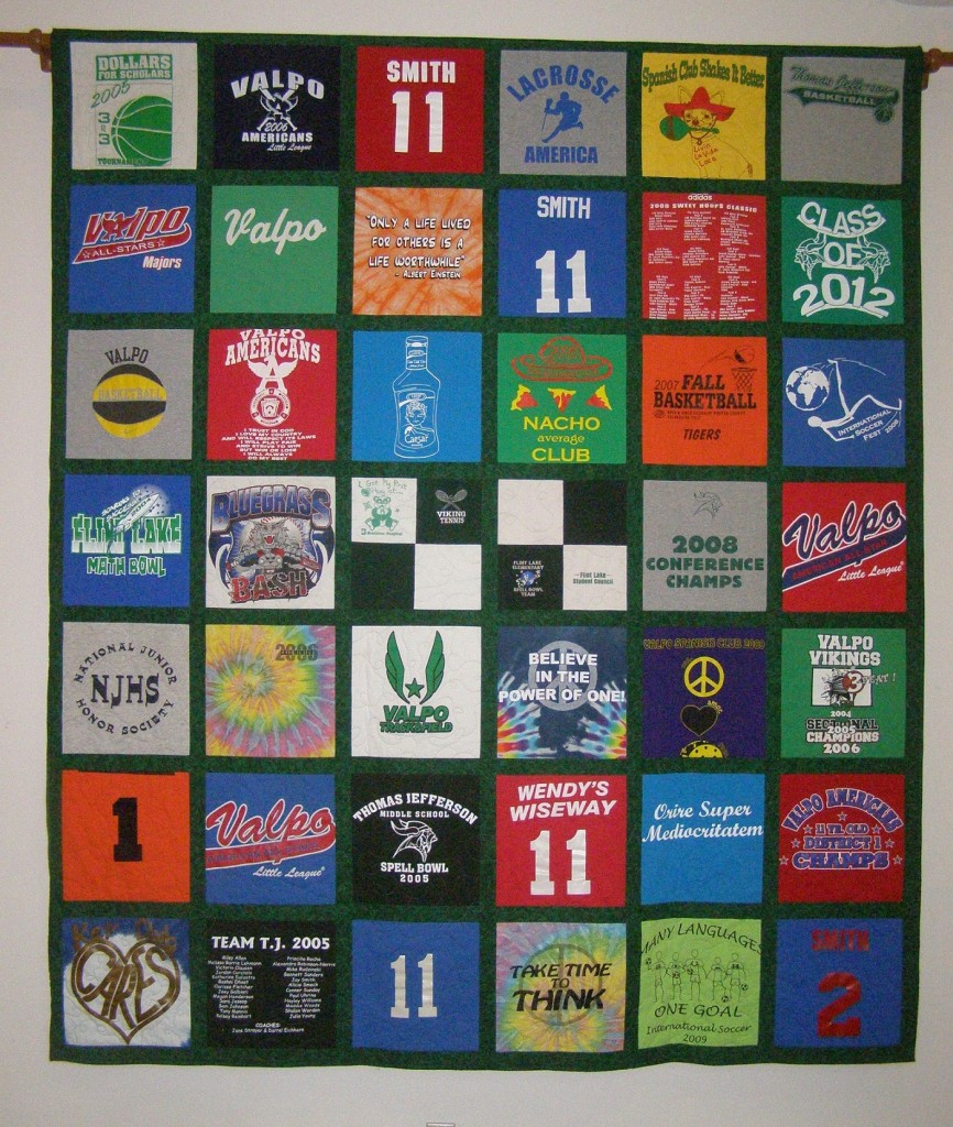 T Shirt Quilts Custom Quilting And Sewing By Laurel Hahn