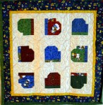 Winter Mittens - Wall-hanging