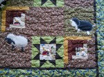 Woolly Lambs - Baby quilt