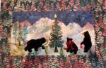 The Bears' Christmas - Wall-hanging